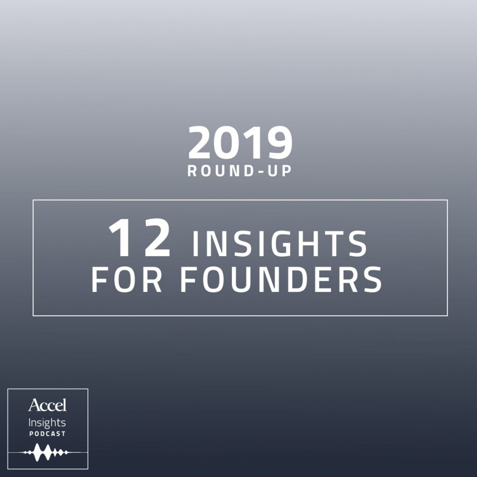 INSIGHTS #45 – 2019 Roundup – 12 Insights for Founders