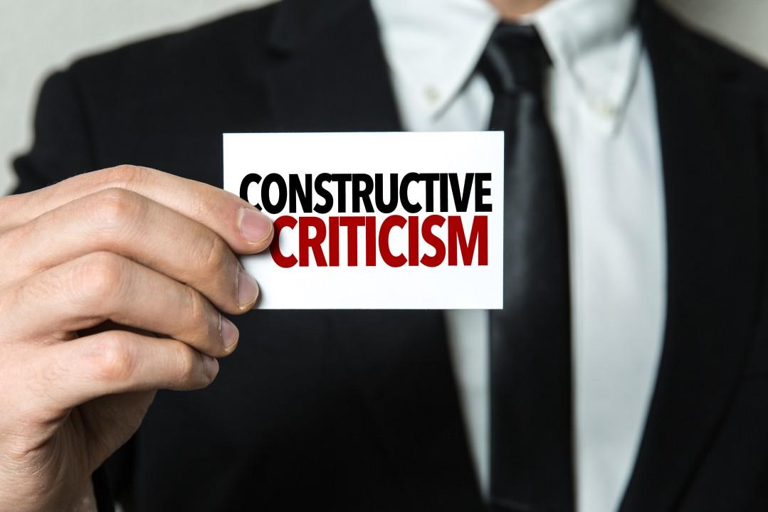 Musings #10: Power of Constructive Feedback