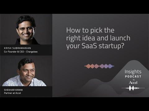 How to pick the right idea and launch your SaaS startup? – SEEDTOSCALE INSIGHTS #48