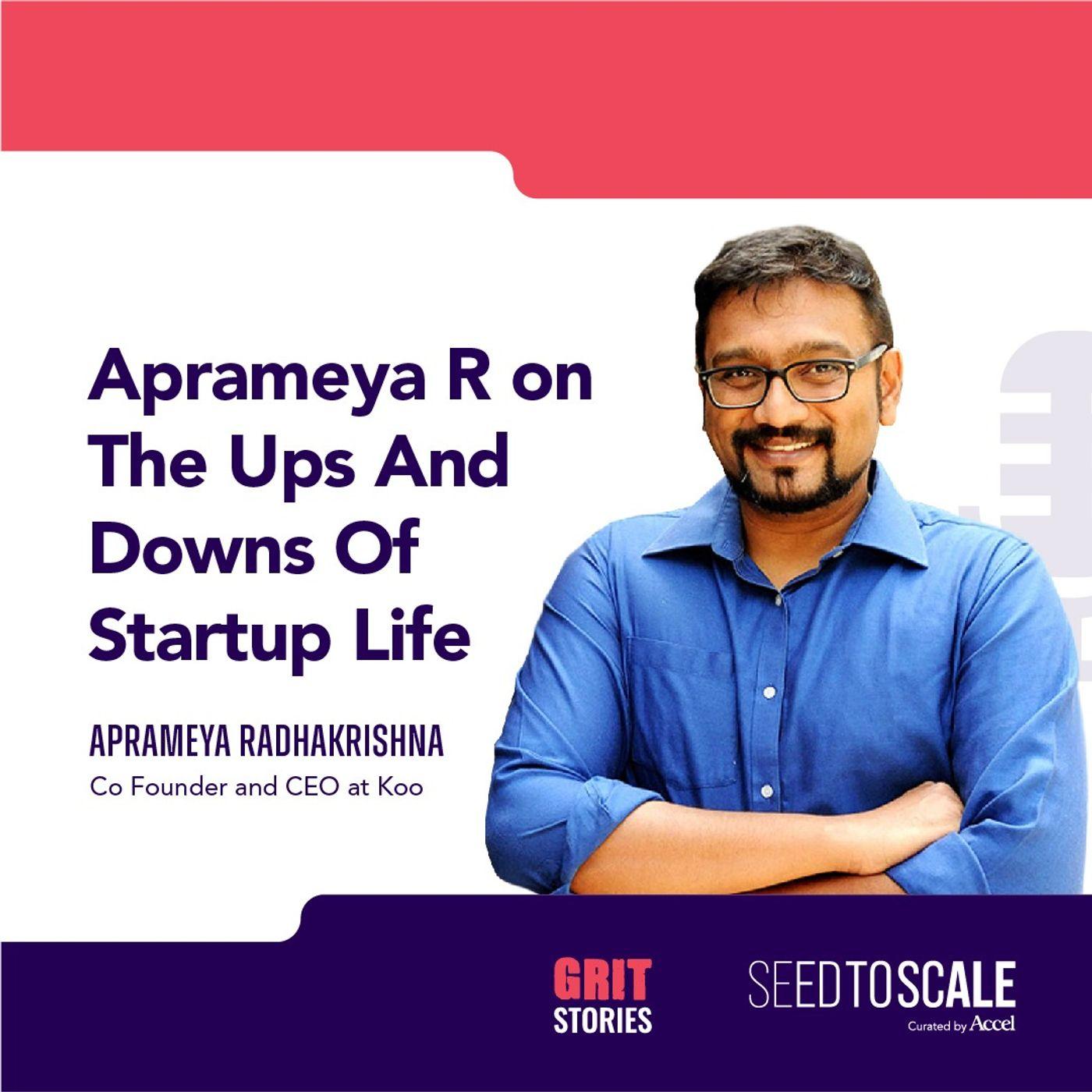 INSIGHTS #68: GRIT Stories | Aprameya Radhakrishna on the ups and downs of startup life