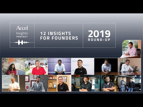 2019 Roundup – 12 Insights for Founders – SEED TO SCALE INSIGHTS #45